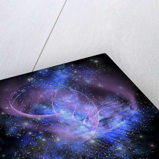 A spacial phenomenon in the cosmos. by Corey Ford