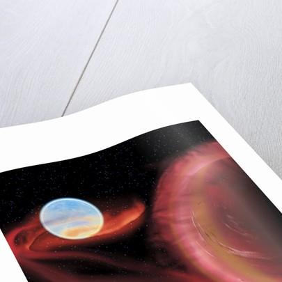 A binary star system. by Corey Ford