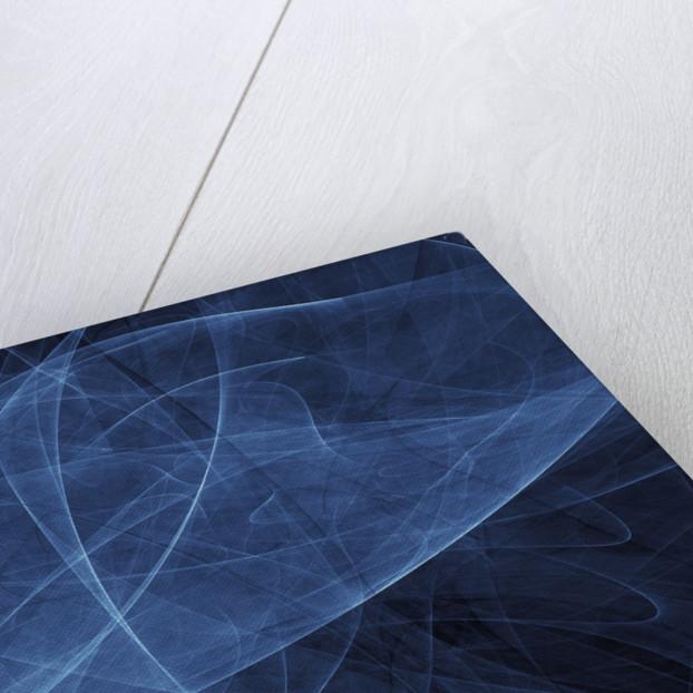 Abstract blue illustration. by Vladislav Gerasimov