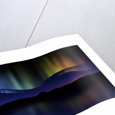 Abstract illustration of the Northern Lights. by Vladislav Gerasimov