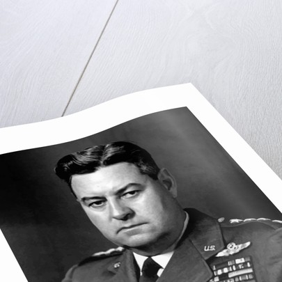 Digitally restored portrait of General Curtis Lemay. by John Parrot