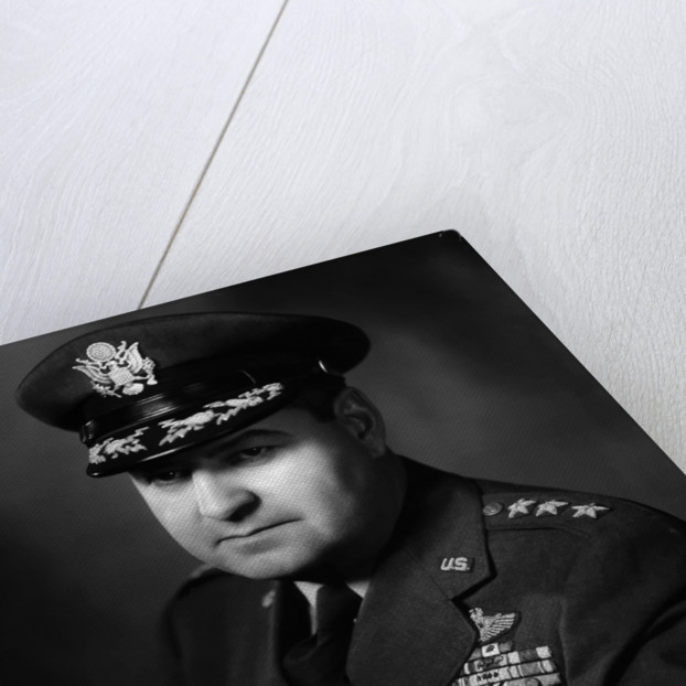 Digitally restored vector portrait of General Curtis Lemay. by John Parrot