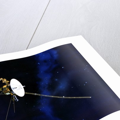 Artist's Concept of Voyager Spacecraft by Anonymous