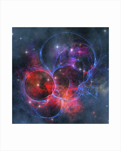 A dark nebula is a type of interstellar cloud. by Corey Ford