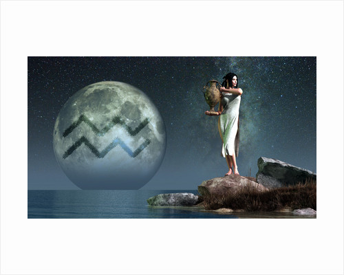 Aquarius is the eleventh astrological sign of the Zodiac. by Daniel Eskridge