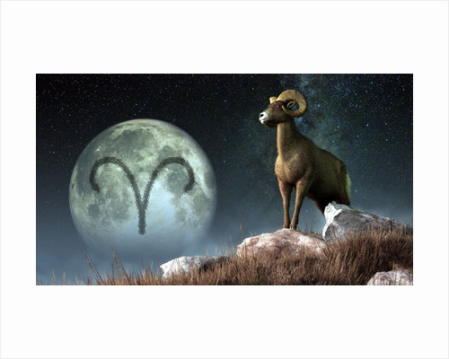 Aries is the first astrological sign of the Zodiac. by Daniel Eskridge