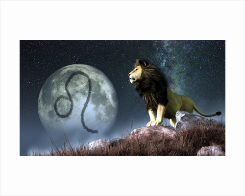 Leo is the fifth astrological sign of the Zodiac. by Daniel Eskridge