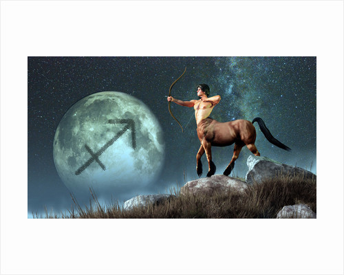 Sagittarius is the ninth astrological sign of the Zodiac. by Daniel Eskridge