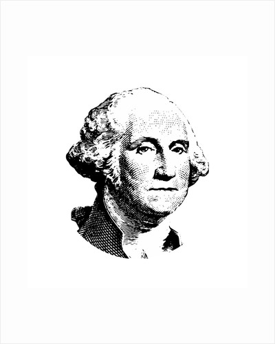 Vector artwork of George Washington. by John Parrot