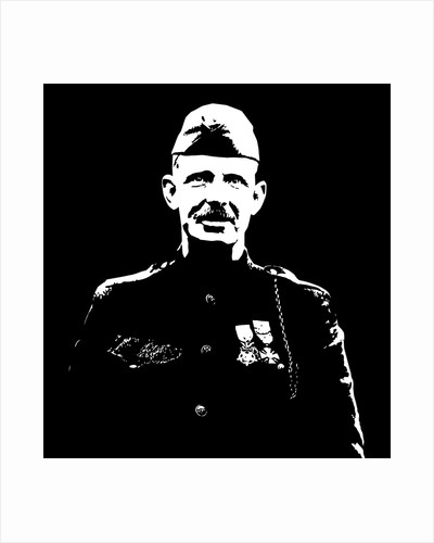 Vector artwork of Sergeant Alvin York. by John Parrot