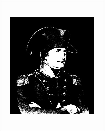 Vector illustration of Napoleon Bonaparte. by John Parrot