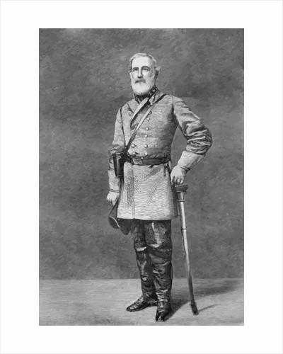 Digitally restored vector portrait of General Robert E. Lee. by John Parrot