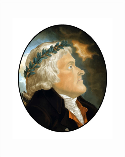 Digitally restored vector artwork of Thomas Jefferson. by John Parrot