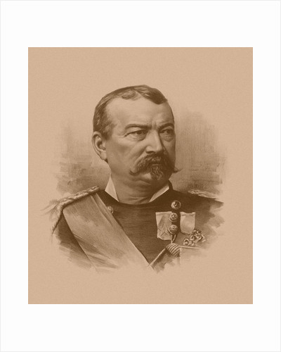 Vintage Civil War artwork of General Philip Sheridan. by John Parrot