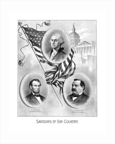 Digitally restored vintage American history print. by John Parrot