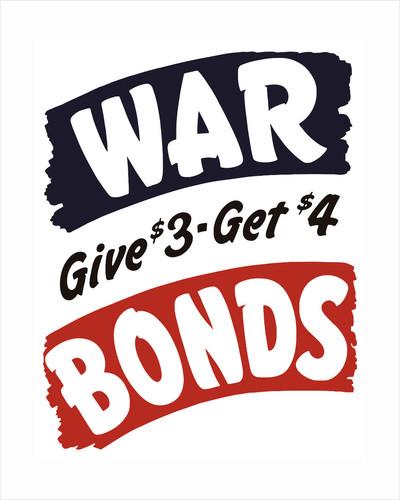 Vintage World War II propaganda poster. by John Parrot
