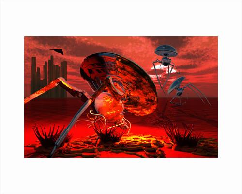 War of the Worlds by Mark Stevenson