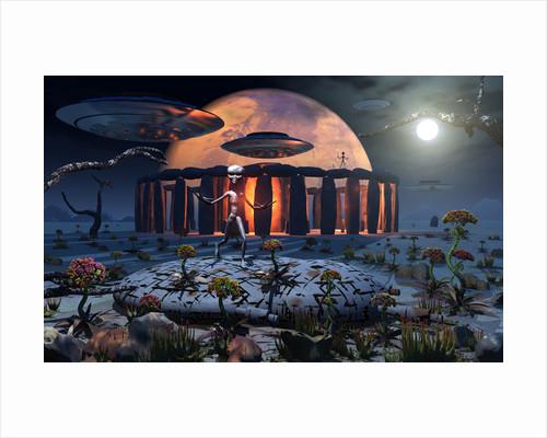 Alien explorers on an alien world. by Mark Stevenson