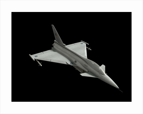 Eurofighter model. by Rhys Taylor