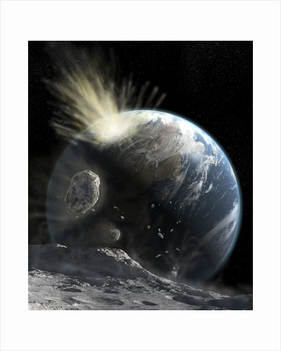A catastrophic comet impact on Earth. by Steven Hobbs