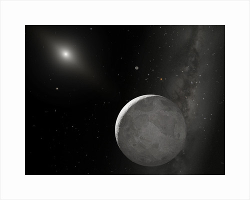 Artist's concept of Kuiper Belt object by Anonymous