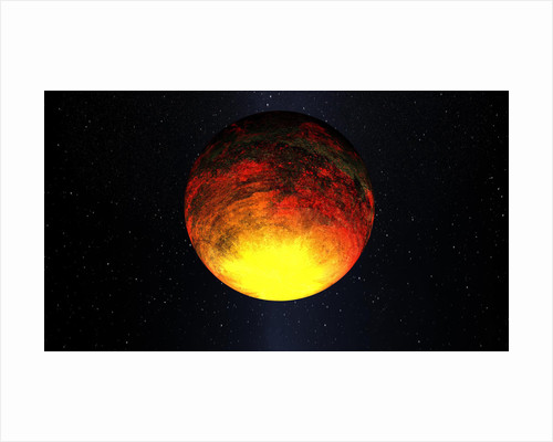 Artist concept of Kepler-10b. by Anonymous
