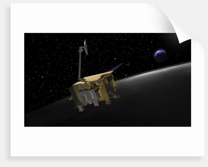 Artist Concept of the Lunar Reconnaissance Orbiter by Anonymous