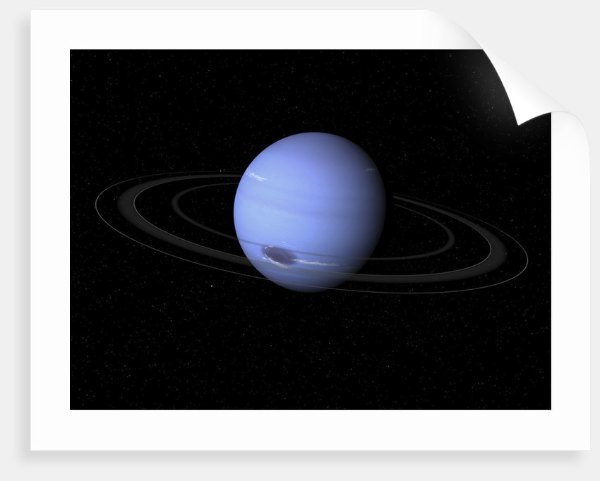 Artist's concept of Neptune. by Walter Myers