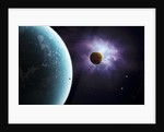 Two planets born from the same star, yet they couldn't be more different. by Brian Christensen