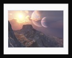 This earthlike planet has a double moon system. by Corey Ford