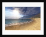 Blue seas and radient sun shine in this seascape. by Corey Ford
