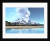 Mount Saint Helens simmers after the volcanic eruption. by Corey Ford