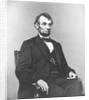 Digitally restored Civil War era painting of President Abraham Lincoln. by John Parrot