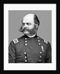 Digitally restored vector portrait of Union Army General Ambrose Everett Burnside. by John Parrot
