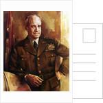 Digitally restored vector portrait of Omar Bradley. by John Parrot