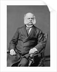 Digitally restored vector portrait of Civil War General Ambrose Everett Burnside. by John Parrot