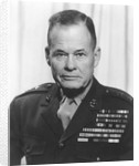 Digitally restored vector portrait of General Lewis Chesty Puller. by John Parrot