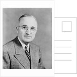 Digitally restored vector portrait of Harry S. Truman. by John Parrot