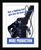 Digitally restored war propaganda poster. by John Parrot