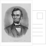 Digitally restored vintage Abraham Lincoln print. by John Parrot