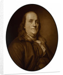 Digitally restored vector painting of Benjamin Franklin. by John Parrot