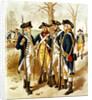 Digitally restored vector painting of the Continental Army during the Revolutionary War. by John Parrot