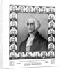 Vintage print of the first twenty three Presidents of The United States. by John Parrot
