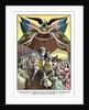 American Revolutionary War print of General George Washington on horseback. by John Parrot