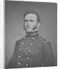 Digitally restored print of Thomas Stonewall Jackson as a young officer. by John Parrot
