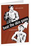 Health propaganda poster of a worker dressing in clean clothes and a man showering. by John Parrot