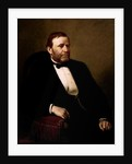 Vintage American History painting of President Ulysses S. Grant. by John Parrot