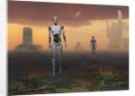 Androids explore an alien planet. by Mark Stevenson