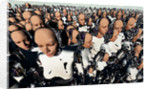 A mass gathering of female like Androids. by Mark Stevenson