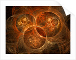 Abstract conceptual image of atomic worlds. by Mark Stevenson
